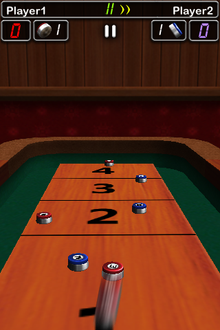 Screenshot iShuffle Board 2 Lite