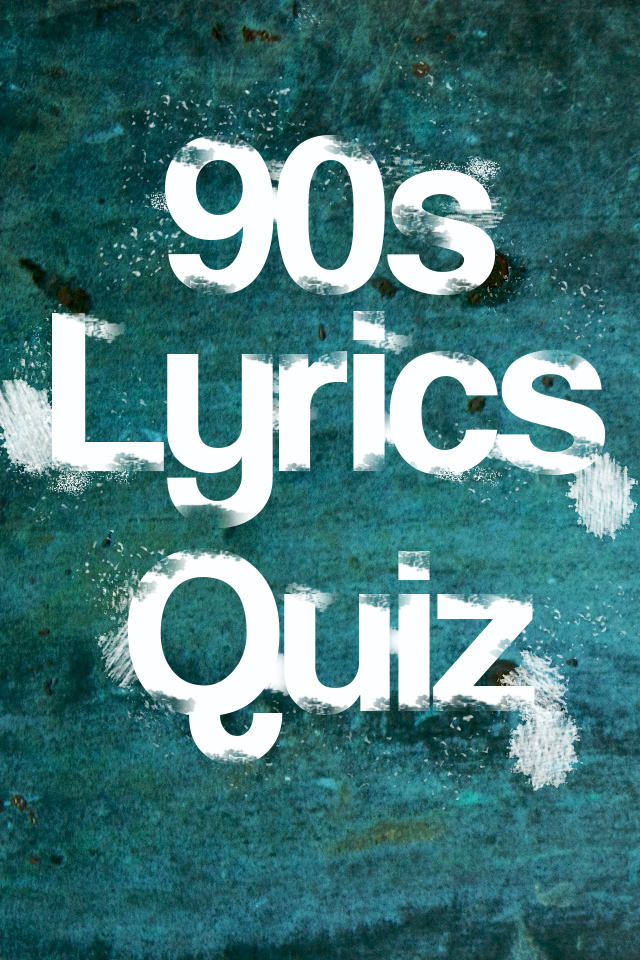 Screenshot 90s Grunge Lyrics Quiz